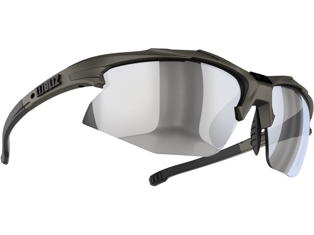 Bliz Hybrid M12 Lunettes, camo green/smoke/silver mirror